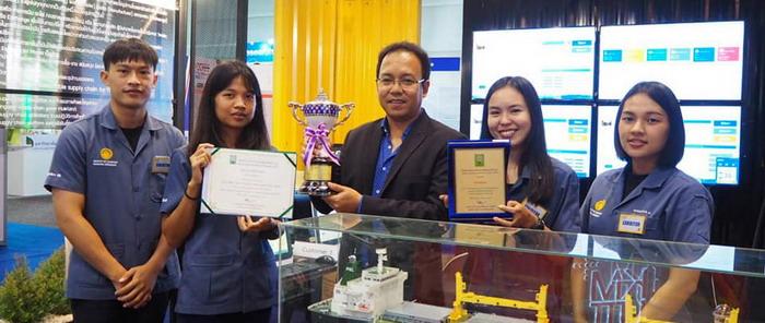"""มหาวิทยาลัยบูรพาได้รับรางวัล Silver Award จากงาน """"มหกรรมงานวิจัยแห่งชาติ 2561"""